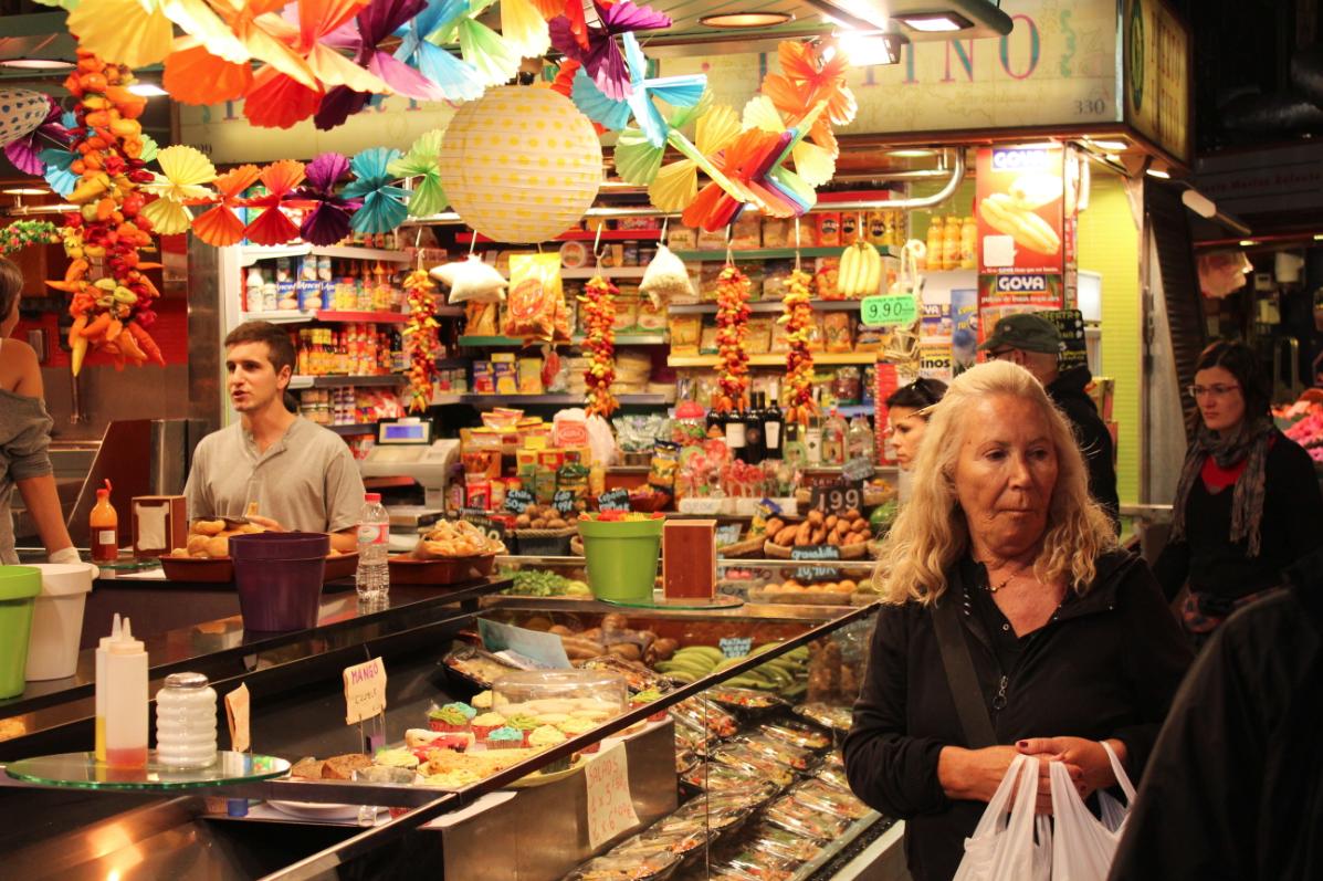 El mercado de la boquer a barcelona - Mercados de segunda mano barcelona ...