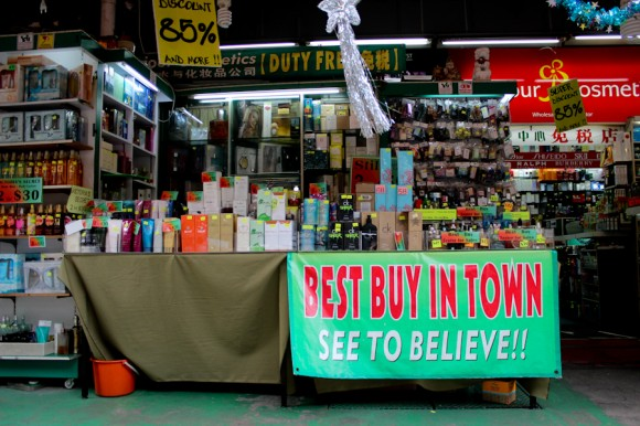 Ofertas imperdibles en Chinatown.