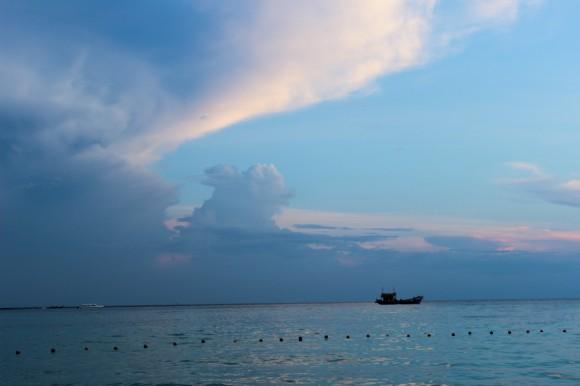 Mar de Andamán, rumbo a las islas.