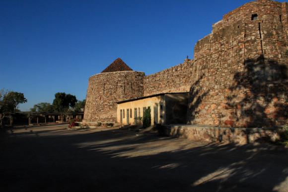 El fortificado perimetral.