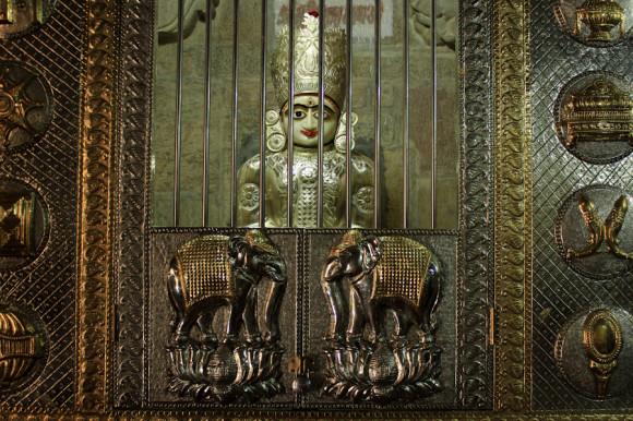 Los elefantes, uno de los pilares de la simbología Rajput, aluden a la riqueza.
