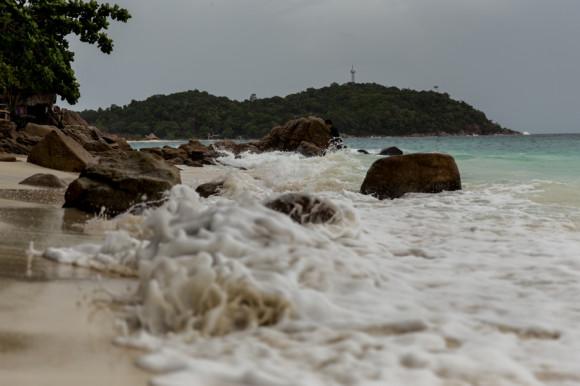 Aunque de aguas por lo general bastante tranquilas, mar adentro siempre va a haber días algo movidos.