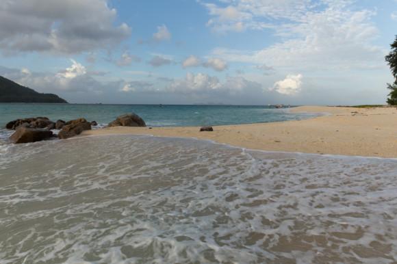 Otra de las playas que se pueden disfrutar en Koh Lipe (donde terminar Sunrise Beach en el norte).