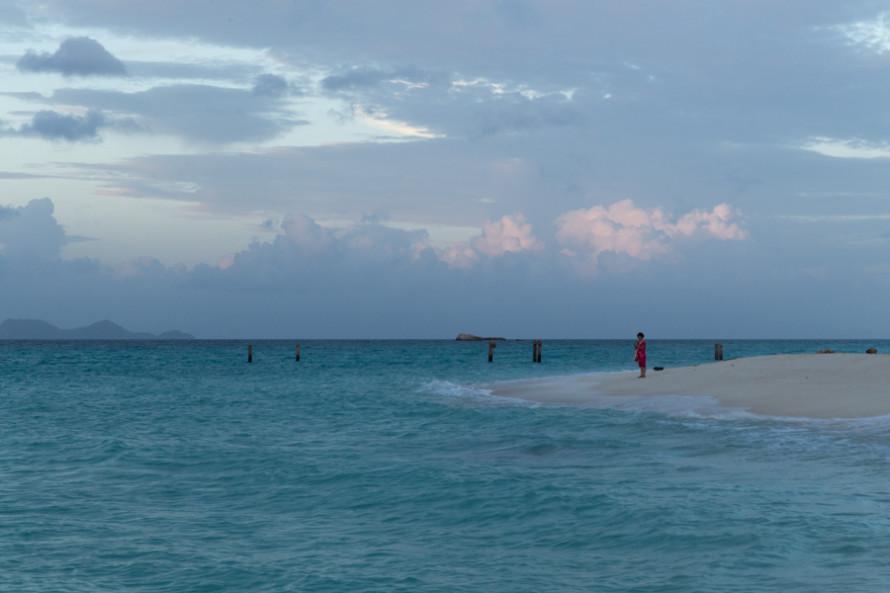 La isla es un paraíso digno de ser contemplado.
