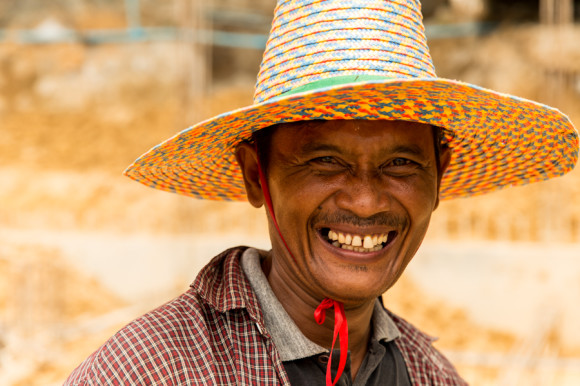Un lugareño nativo de Koh Lipe y miembro de los Chao Ley.