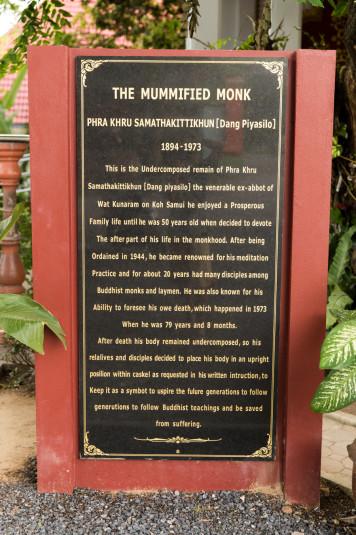 La historia de vida y muerte del monje más famoso de Koh Samui.