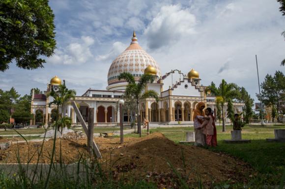 La ciudad de por sí no tiene muchos puntos de interés, más que una mezquita...