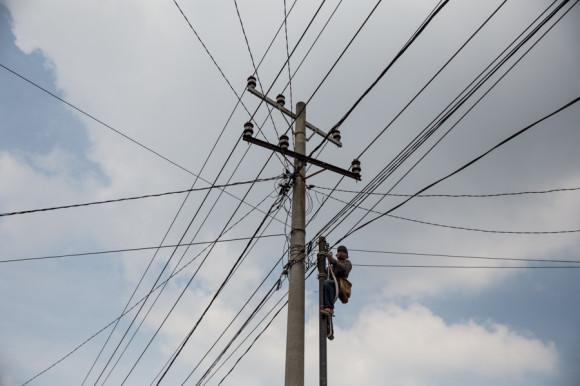 Otra similitud con países vecins son los cortes eléctricos bastante frecuentes.