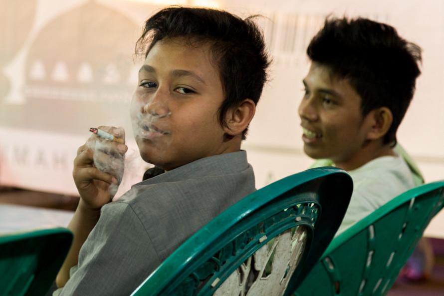 Entre los 13 y los 15 años, el 23,9% de los chicos fuma.