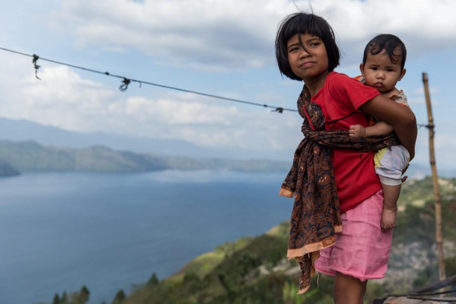 Y los niños Batak, que suelen saber un poco más de inglés y siempre se acercan a charlar.