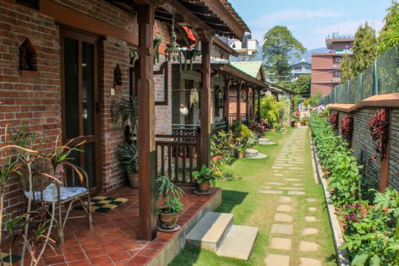 viajoscopio.com - Pokara, Nepal, Himalaya - Vardan Resort -5