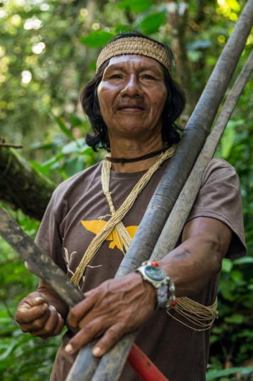 Una vez llegados al Amazonas, Vai sería nuestro guía durante los próximos tres días.